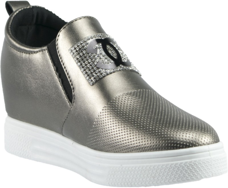 Gospel Gospel Top Embossed SneakersGold