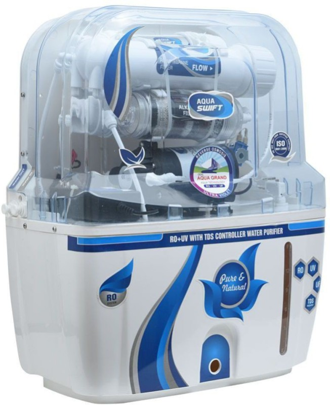 dd75c394a 70%off Aquagrand IFT 10 L RO + UV + UF + TDS Water Purifier(Blue)