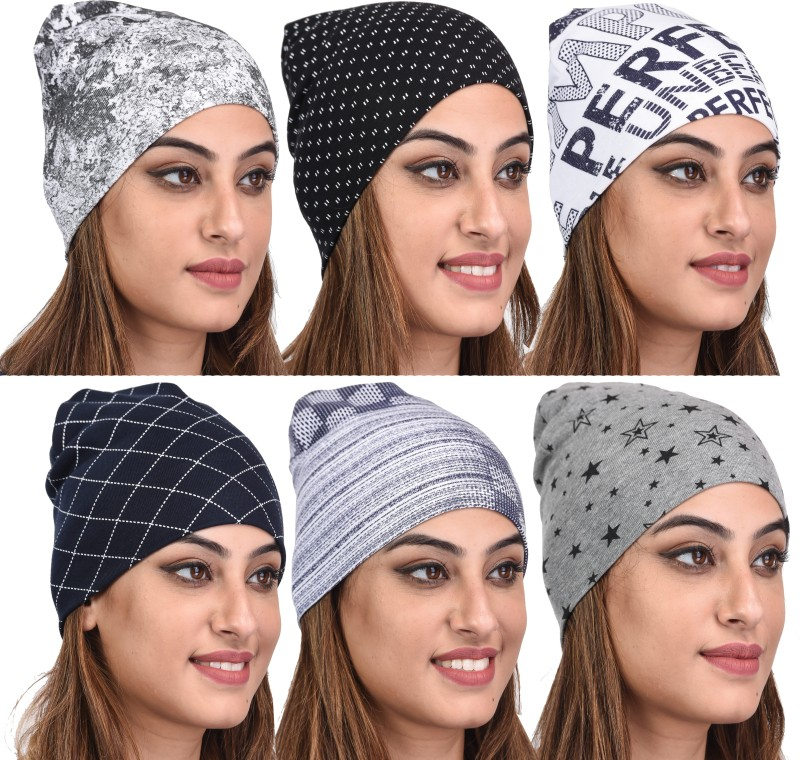 69GAL Printed SKULL CAP Cap(Pack of 6)