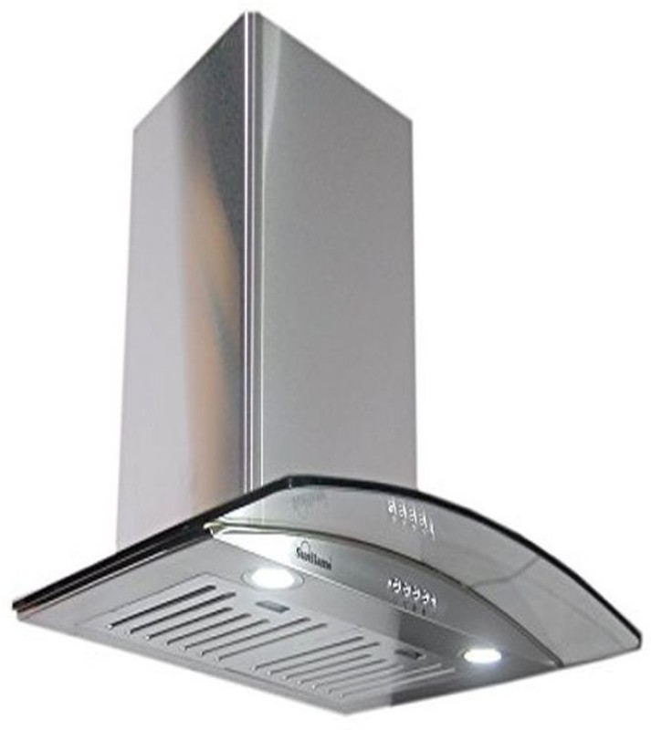 Sunflame iris ss bf chimney Wall Mounted Chimney(silver 1100)