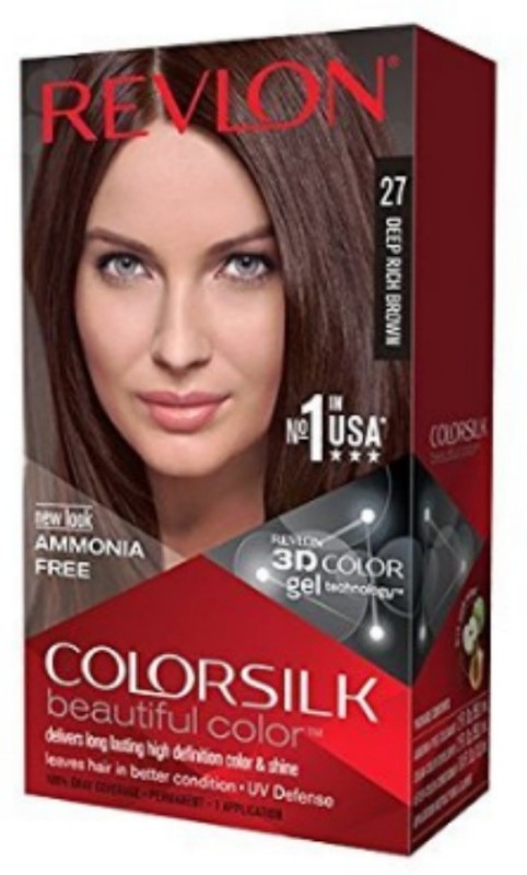 Revlon ColorSilk 3D Hair Color 2WB Deep Rich Brown Hair Color(Deep Rich Brown)