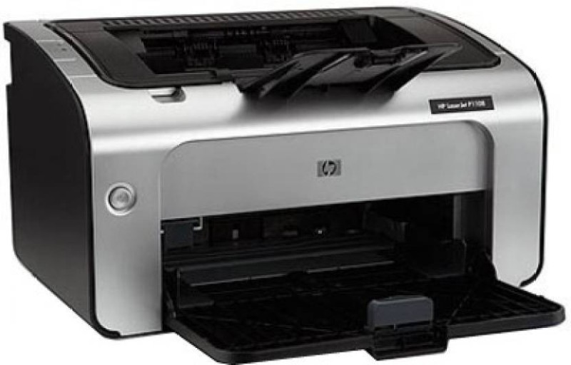 HP HP_ LASERJET P1108 SINGLE FUNCTION PRINTER WITH ( BLACK CARTRIDGE) Single Function Printer(BLACK & SILVER MIX, Toner Cartridge) image