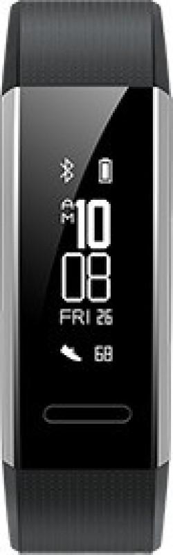 Huawei Band 2(Black Strap, Size : Regular)