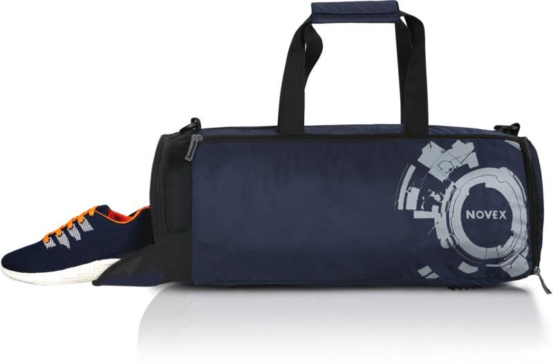 Novex Rove Gym bag(Blue, Kit Bag)