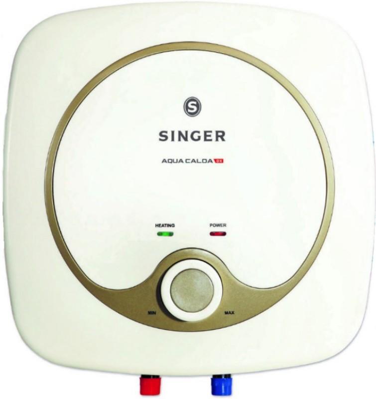 Singer 25 L Storage Water Geyser (Aqua Calda DX, White)