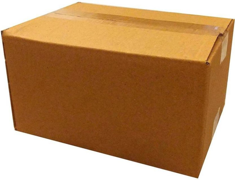 ADD-IT PRINTERS Corrugated Cardboard 5Ply Heavy Duty Cartons, Storage, Shipment, Moving, Packaging, 18inch x 12inch x 10inch (Pack of 5) box Packaging Box(Pack of 5 Brown)