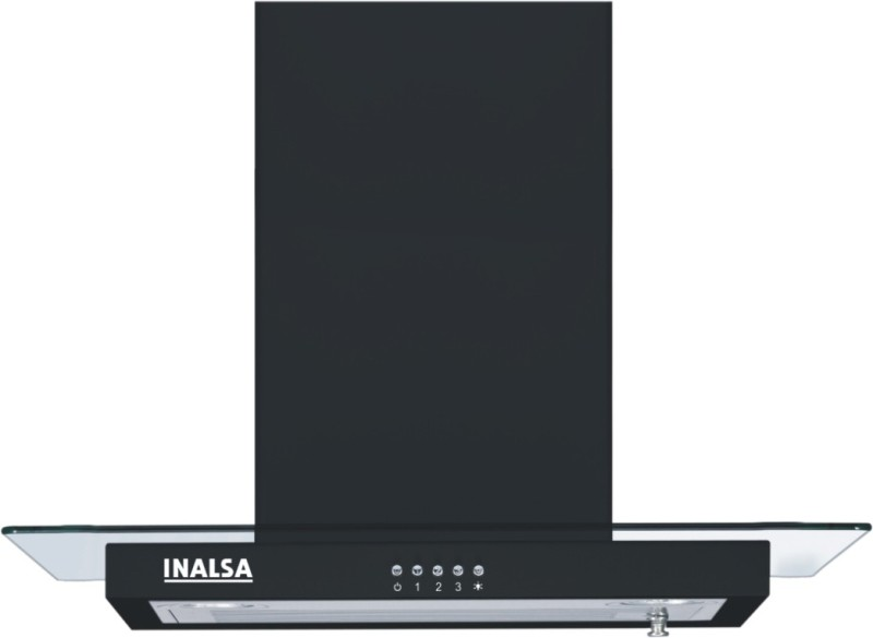 Inalsa Polo 60 BKBF Wall Mounted Chimney(Black 1100)