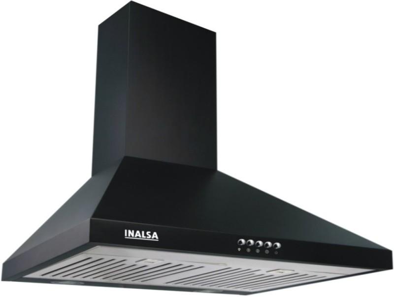 Inalsa Brio 60 BKBF Wall Mounted Chimney(Black 950)