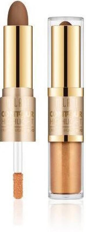 Milani Contour & Highlight Cream & Liquid Duo Compact - 3.6 g(Fair/Light)