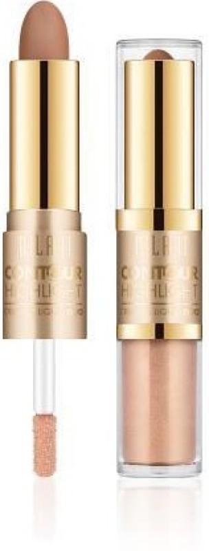 Milani Contour & Highlight Cream & Liquid Duo Compact - 3.6 g(Deep/Dark)
