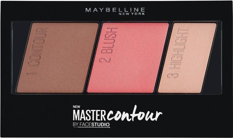 Maybelline Facestudio Master Contour Face Contouring Kit Compact - 10 g(Medium to Deep)