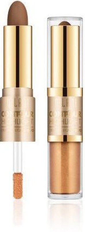 Milani Contour & Highlight Cream & Liquid Duo Compact - 3.6 g(Light/Natural)