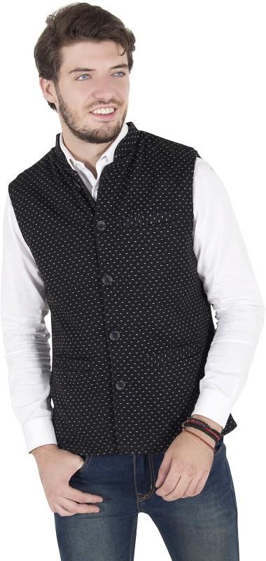 Zoravie Sleeveless Solid Mens Jacket