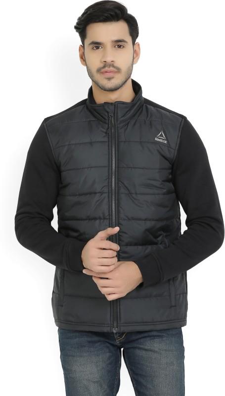 REEBOK Full Sleeve Solid Mens Jacket