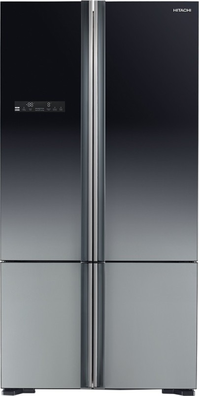 Hitachi 650 L Frost Free French Door Bottom Mount Refrigerator(Grey,...