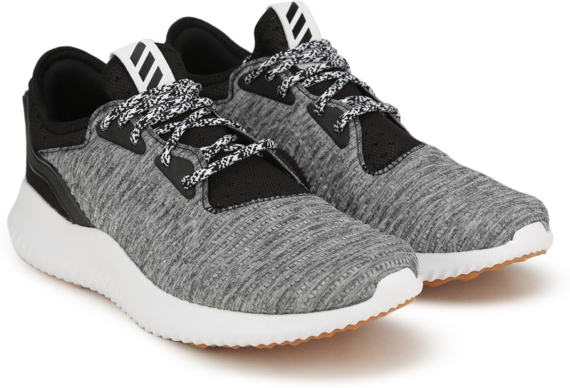 ADIDAS ALPHABOUNCE LUX W Running Shoes For Women(Black, Grey)