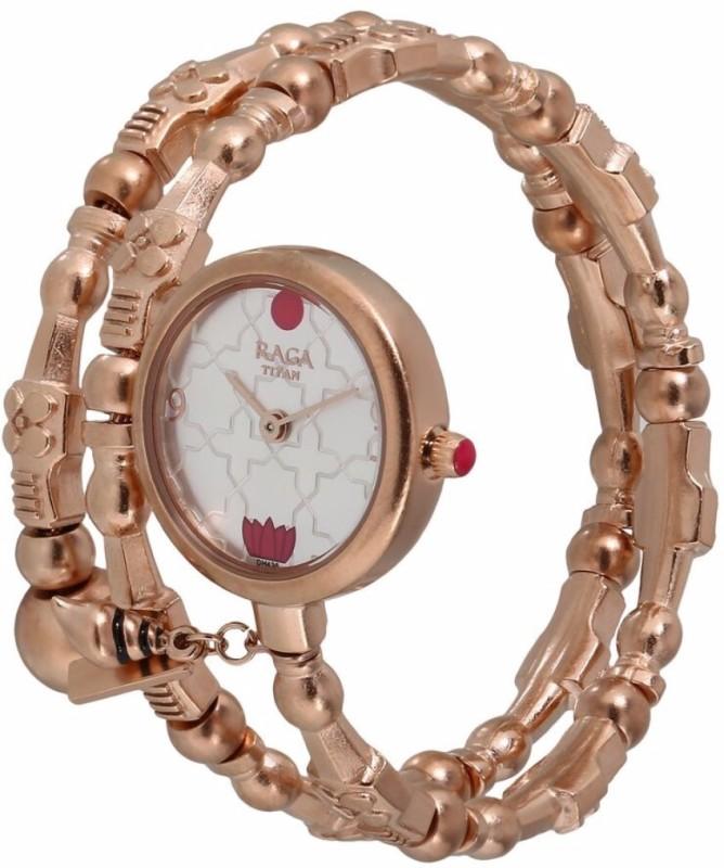 Titan 95074WM01 Masaba Analog Watch - For Women