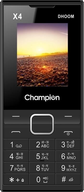Champion X4 Dhoom(Black)