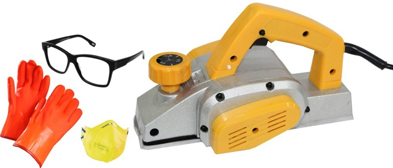 Digital Craft Powerful Electric Wood Hand DIVS Corded Planer(1-82 mm)