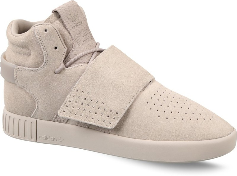 ADIDAS ORIGINALS TUBULAR INVADER STRAP Sneakers For Men(Beige)