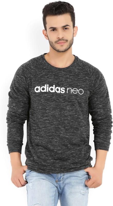 ADIDAS NEO Full Sleeve Self Design Mens Sweatshirt