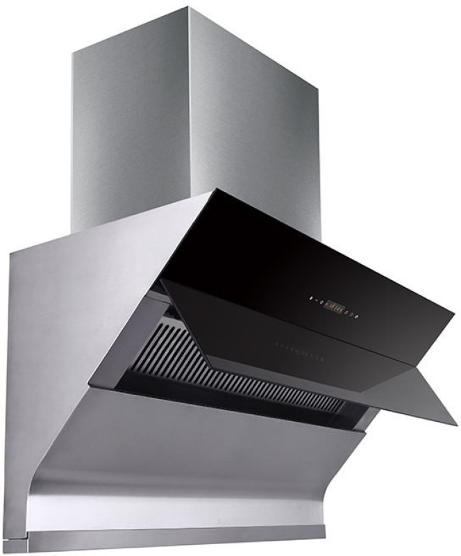 Kaff DISCOUNT ON CELINO 90 CM Wall Mounted Chimney(GRAY 1300)