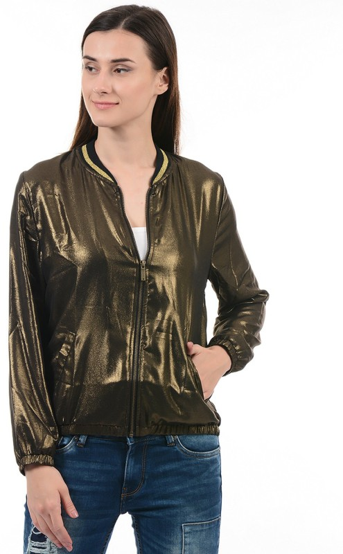 Pepe Jeans Full Sleeve Solid Womens Jacket