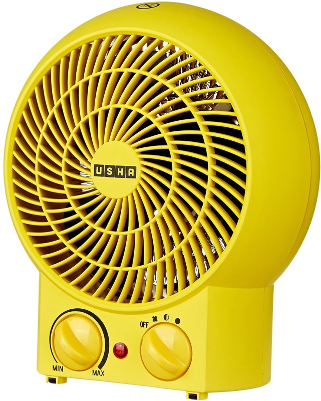 Usha 3620 Yellow Fan Room Heater