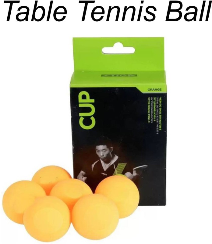 Cosco Ping Pong Ball(Pack of 1, Orange)