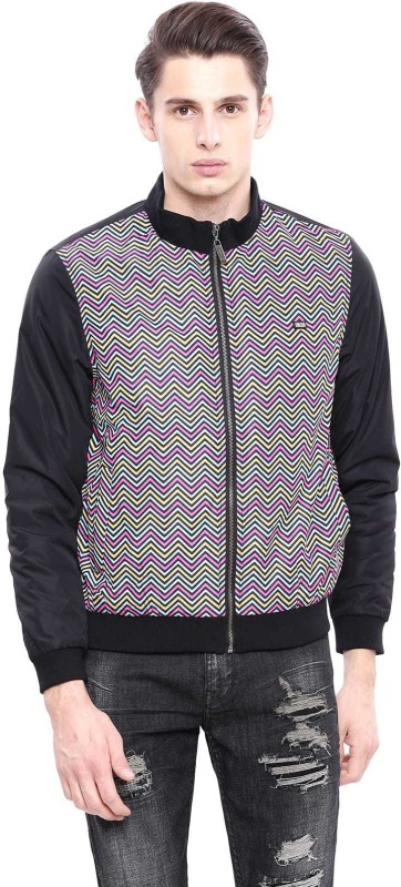 Arrow Sport Full Sleeve Striped Men Jacket