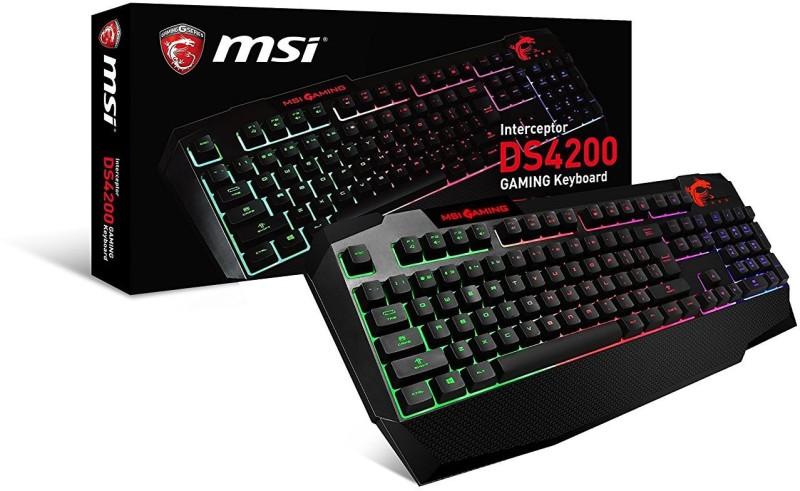msi-interceptor-ds4200-anti-ghosting-multi-color-backlit-original-imaezp5afrctdayh Best Gaming Keyboards in India 2018 - Buyer's Guide & Reviews