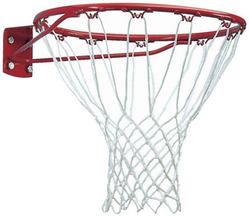 FACTO POWER With Net, And Basket Ball, Orange Color, 16 mm., Basketball Ring(7 Basketball Size With Net)