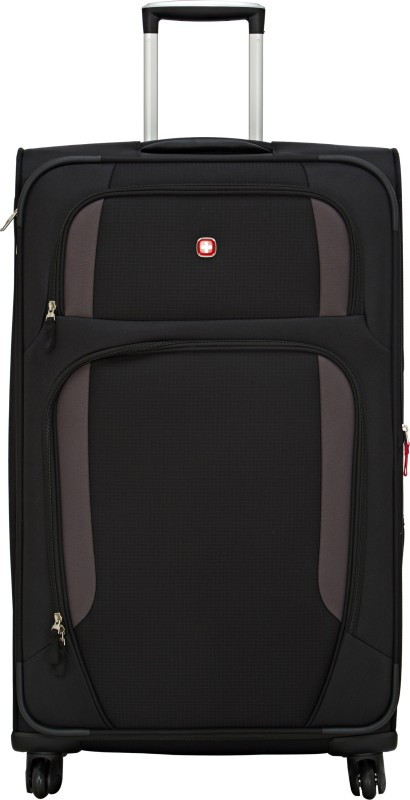 Swiss Gear 28.5 Spinner Lugano Expandable Check-in Luggage - 28 inch(Black)