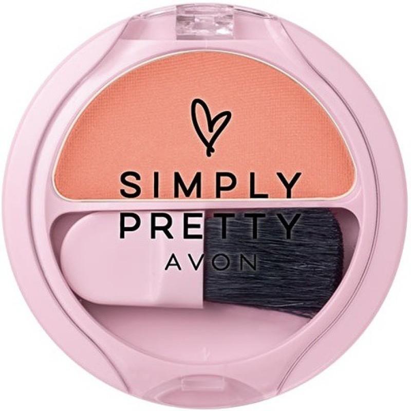 Avon Simply Pretty Cheek Color 3g - Rosy Cheeks(Rosy Cheeks)