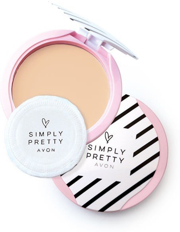 Avon Simply Pretty Shine No More PP 11g - Pink Blush Compact - 11 g(Pink Blush)