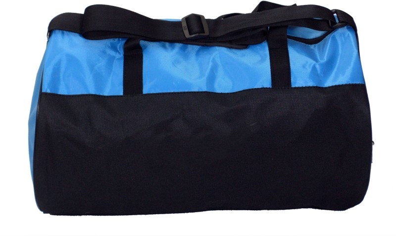 CP Bigbasket Stylish Sport travel Duffle With Show Compartment Gym Bag(Blue)