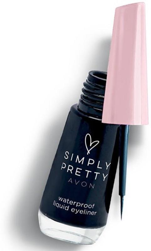 Avon Simply Pretty Liquid Eyeliner 7.5g - Black 7.5 g(Black)
