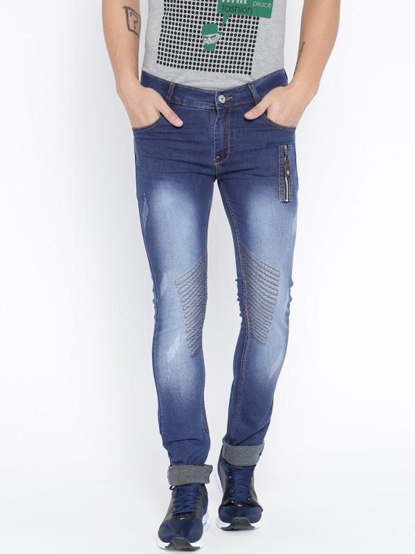 TRIBEWEAR Slim Men's Dark Blue Jeans
