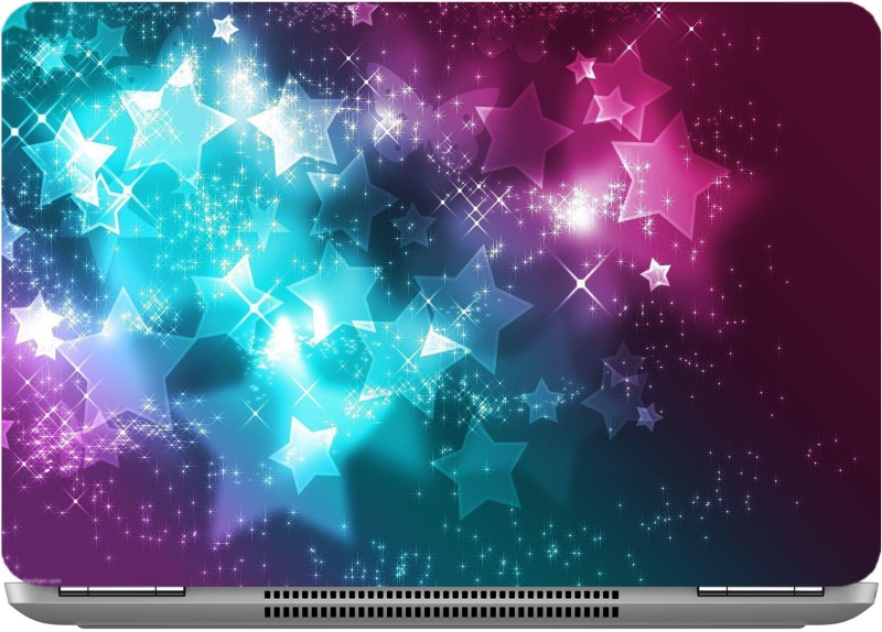 imbue Galaxy Stars High quality vinyl Laptop Decal 15.6