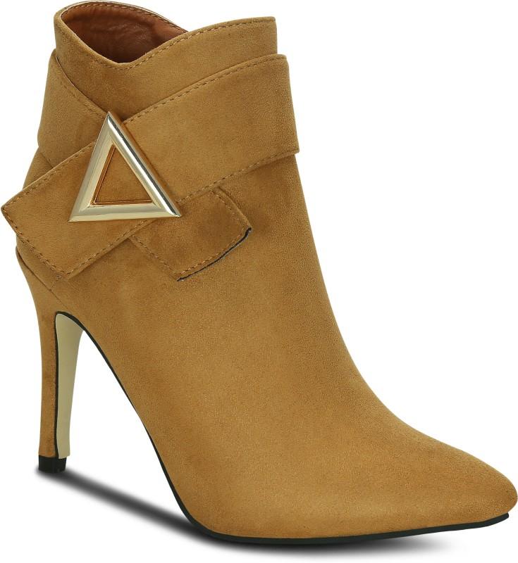 Kielz Tan-Suede-Women-Boots Boots For Women(Tan)