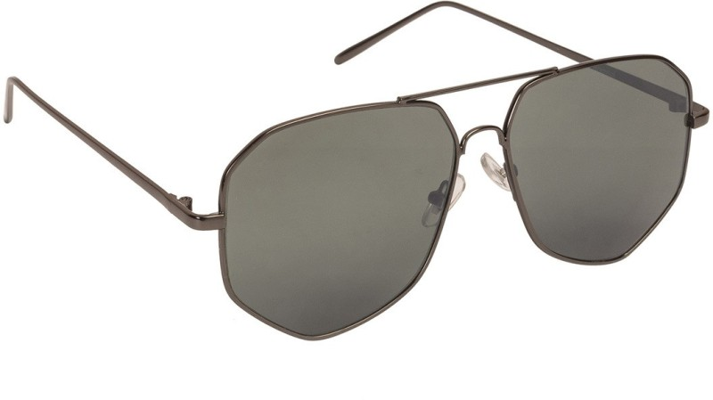 Arzonai Aviator Sunglasses(Black) image