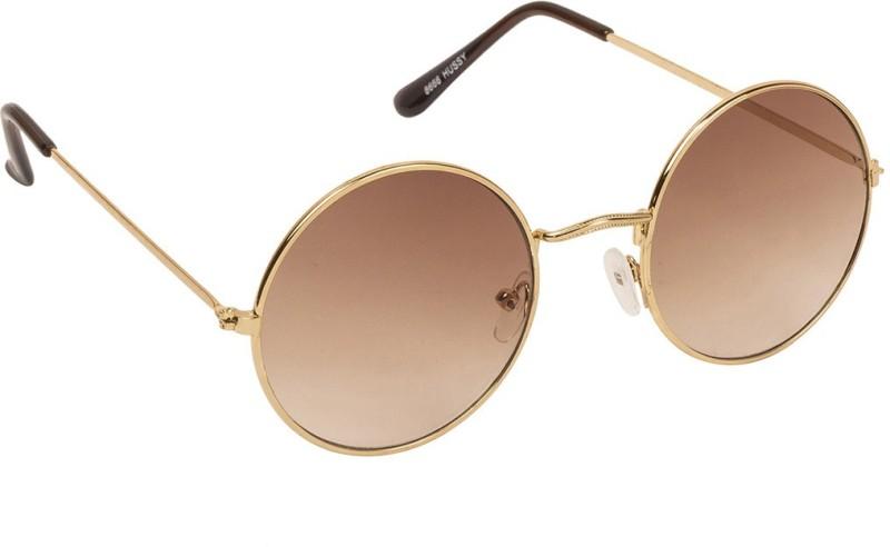 Arzonai Round Sunglasses(Brown) image