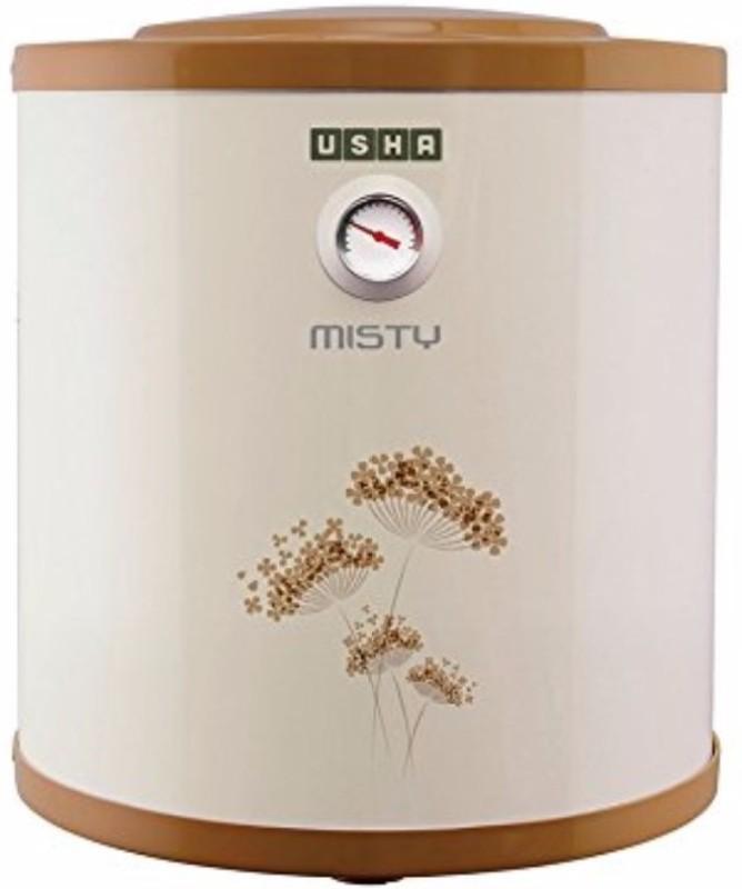Usha 6 L Storage Water Geyser(Gold, Misty 6-Litres 5-Star Rated Storage Water Heater (Ivory Gold))