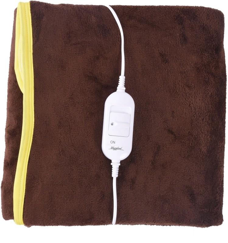 selective Plain Single Electric Blanket(Polyester, Mocha Brown)