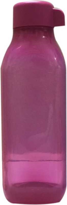Tupperware 500 ml square 500 ml Bottle(Pack of 1, Pink)