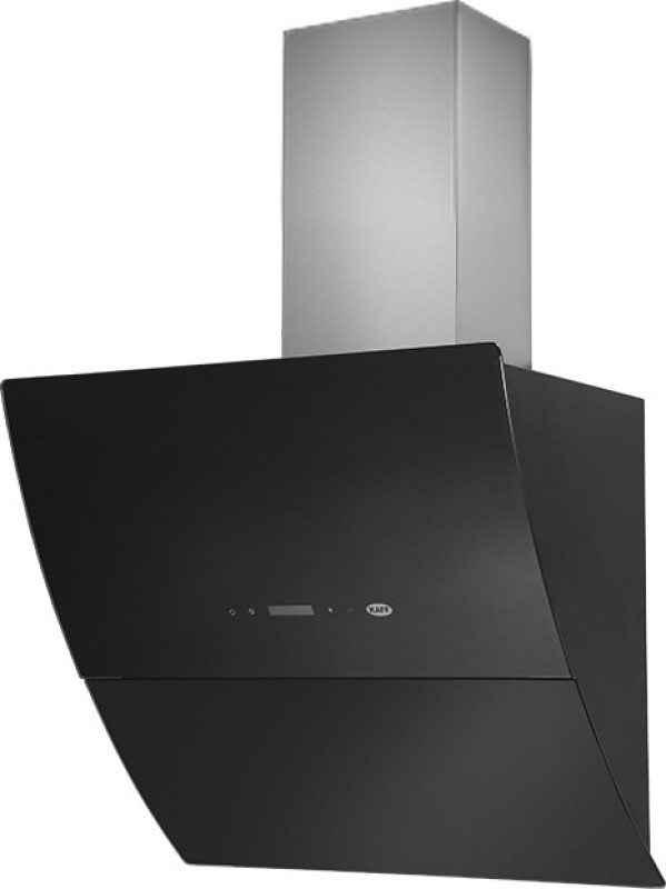 Kaff LEON 90 CM BLACK(Five Year Warranty) Wall Mounted Chimney(BLACK 1180)