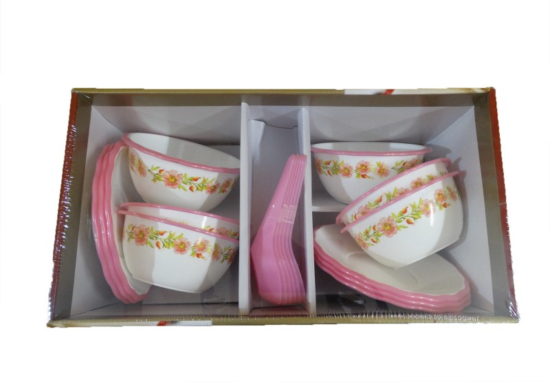 NextWhat Soup Bowl Dinner Set(Microfibre)