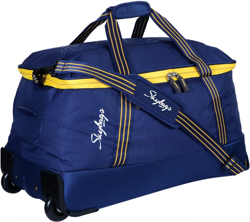 d776e0434d 10%off Skybags Boom 24 inch 60 cm (Expandable) Travel Duffel Bag(Blue)