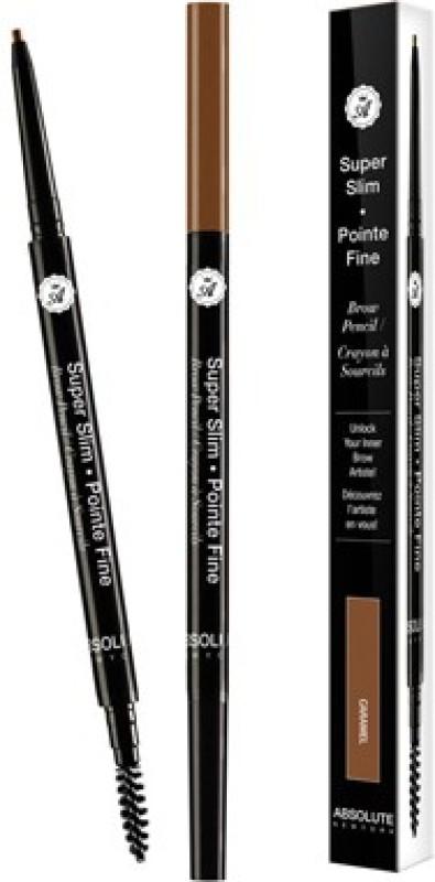 Absolute Super Slim Eye Brow Pencil 1 g(Caramel)