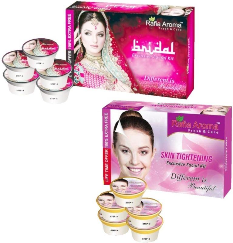 rafia aroma Bridal Skin Tightening Exclusive Facial Kit(2 x 330 g)